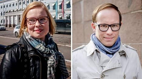 Laura Räty ja Lasse Männistö ovat aikaisemmin siirtyneet terveysyhtiöiden palvelukseen.