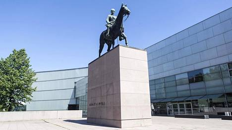 Mannerheimin ratsastajapatsas.