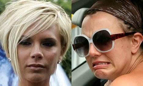 Victoria Beckham ei ole lämpimissä väleissä Britney Spearsin kanssa.