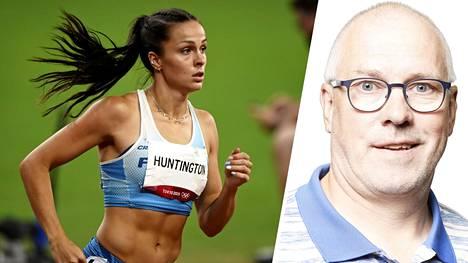 Maria Huntington on kysynyt Mika Vakkuria valmentajakseen.