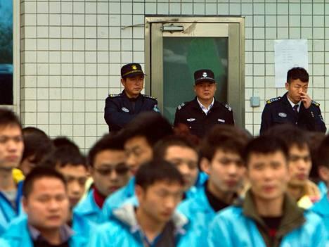 IBM:n työntekijät protestoivat maaliskuussa siirtoaan Lenovolle.