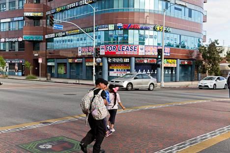 Los Angelesin Koreatown.
