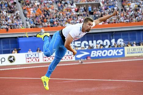 Antti Ruuskanen heitti EM-pronssia kesällä 2016.