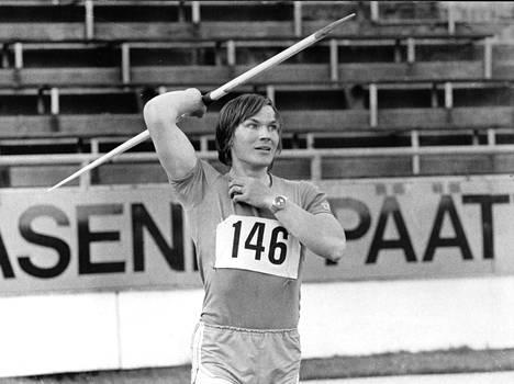 Hannu Siitonen oli keihäänheiton valovoimaisimpia tähtiä 1970-luvulla.