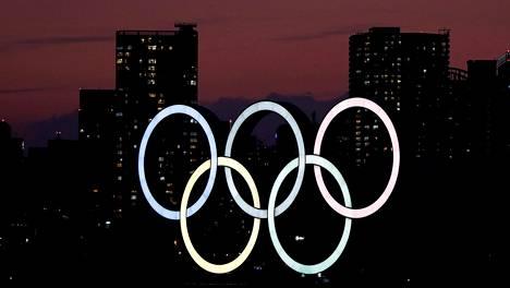 Olympiarenkaat Tokion Marine Parkissa.