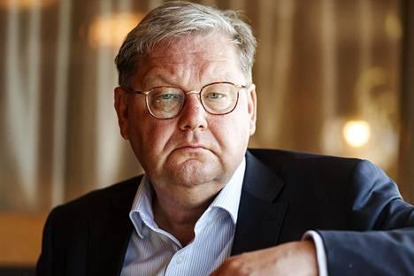 Toimitusjohtaja Jan Hanses, Viking Line.