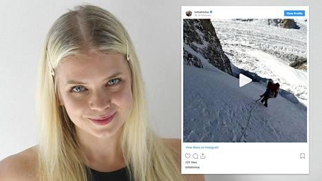 Lotta Hintsa kertoo Instagramissa olevansa fyysisesti kunnossa.