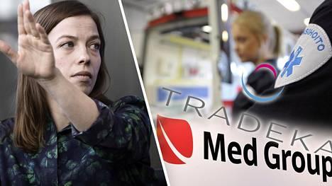 Li Andersson arvostelee Tradekan Med Group -kauppoja.