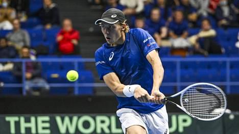 Emil Ruusuvuori on Suomen kantavia voimia tenniksessä.