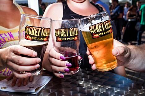 Suuret oluet pienet panimot -festivaali esittelee pienpanimojen oluttuotteita.