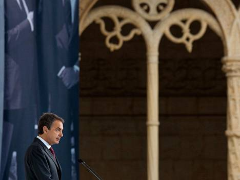 Espanjan pääministeri Jose Luis Rodriguez Zapatero.