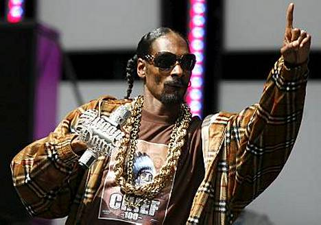 Snoop Dogg esiintyi Live Earth -konsertissa Hampurissa.