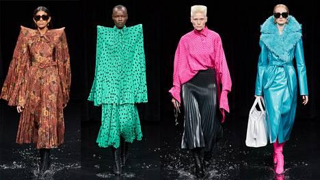 Minttu Vesala käveli yllätyksekseen huippumuotimerkki Balenciagan näytöksessä Pariisin muotiviikoilla ammattimallien rinnalla.