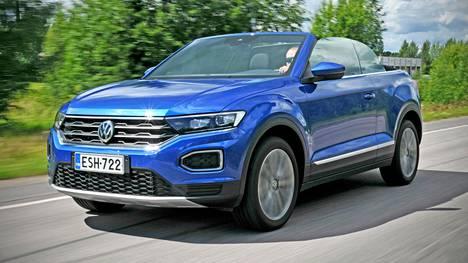 Volkswagen on onnistunut T-Roc Cabriolet'n suunnittelussa ja luomisessa hyvin. Katto alhaalla ajaminen on miellyttävä kokemus, kunhan vain keli sen sallii.