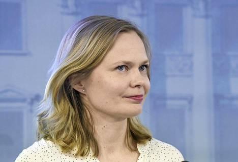 Tiede- ja kulttuuriministeri Hanna Kosonen (kesk).