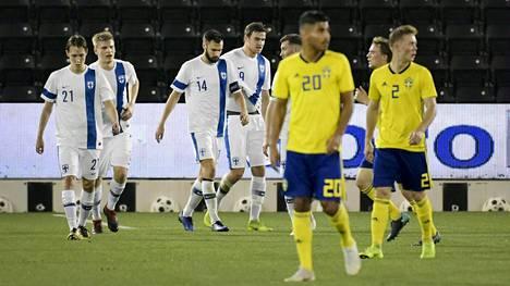 Huuhkajat voitti Ruotsin Eero Markkasen maalilla Qatarissa