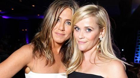 Jennifer Aniston ja Reese Witherspoon tähdittävät yhdessä uutta The Morning Show -sarjaa.