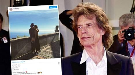 Mick Jagger on omien sanojensa mukaan vihdoin asettunut aloilleen.