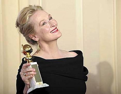Meryl Streep sai seitsemännen kerran Golden Globe -pystin, mikä on enemmän kuin kukaan muu nainen on pystynyt voittamaan.