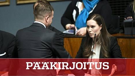 Kokoomusjohtaja Petteri Orpon ja pääministeri Sanna Marinin yhteenotossa voi nähdä merkin myös kriisin helpottumisesta.