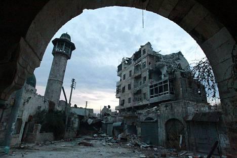 Kuva Aleppon vanhastakaupungista on otettu kolmisen viikkoa ennen Abu Anas al-Finlandin kuolemaa.