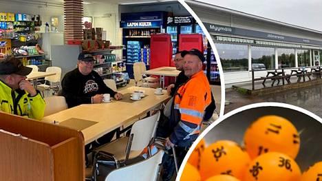 Sunnuntai oli Sodankylässä sateinen, mutta tieto lottovoitosta ilahdutti Ranniotien Nesteellä.