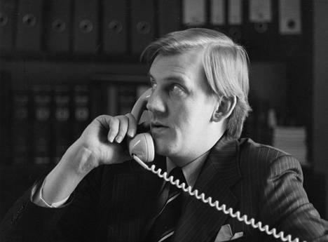 Seppo Tiitinen oli Suojelupoliisin päällikkönä 1978-1990.