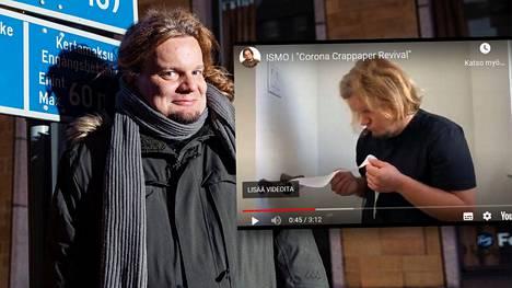 Ismo Leikola julkaisi korona-aiheisen videon.