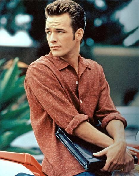 Luke Perry tähditti pitkään Beverly Hills 90210 -sarjaa.