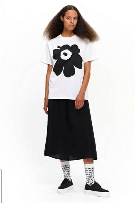 Unikko-paita 95 €, Marimekko.