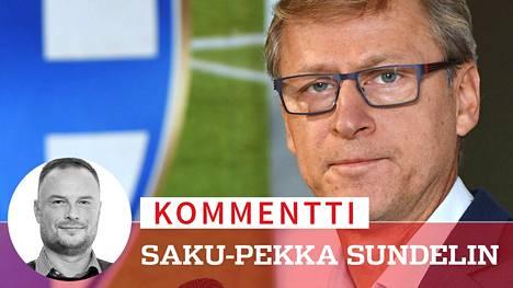 Markku Kanervan olemus rauhoittaa jännittävässäkin paikassa.