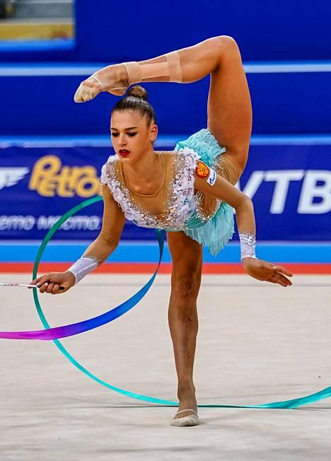 Soldatova voitti urallaan kahdeksan MM- ja seitsemän EM-mitalia. Kuva vuoden 2018 MM-kilpailuista.