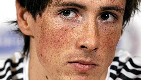 Fernando Torres ei aio tuulettaa maalia sunnuntaina.