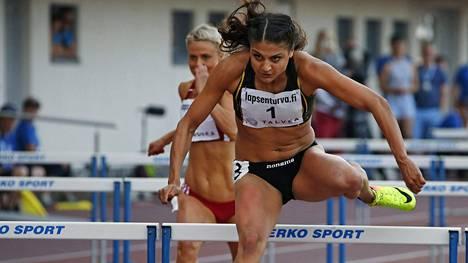 Nooralotta Neziri kilpailee lauantaina viimeistä kertaa ennen olympialaisia.