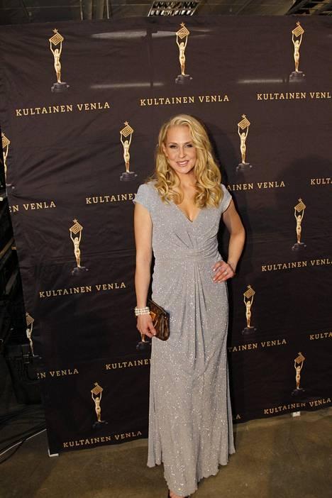 Joanna Kuvaja nähtiin myös Kultainen Venla -gaalassa.