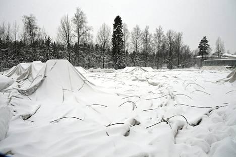 HPS:n kuplahalli Helsingissä romahti lumen painosta.
