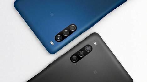 Sonyn Xperia L4 -puhelinta on keväällä saatavissa mustana ja sinisenä.