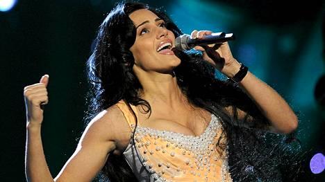 Armenian Eva Rivas sijoittui seitsemänneksi Oslon euroviisuissa 2010.