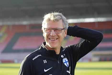 Markku Kanervalla on ollut aihetta hymyyn EM-karsintojen aikana.