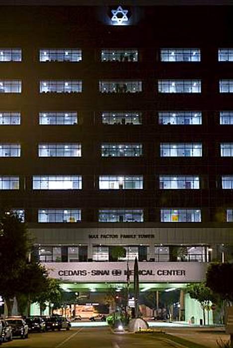 Spears on tarkkailussa tässä losangelesilaissairaalassa.