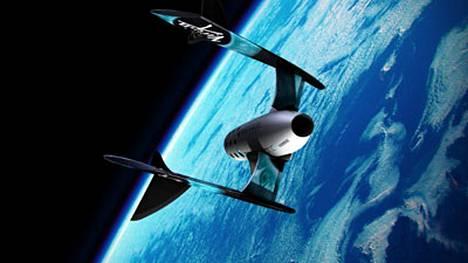 Virgin Galacticin avaruuslennot ovat testivaiheessa.