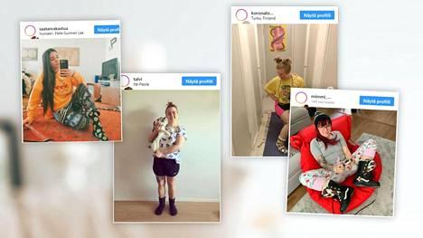 Suomalaisella Instagram-tilillä jaetaan kuvia kotityyleistä.