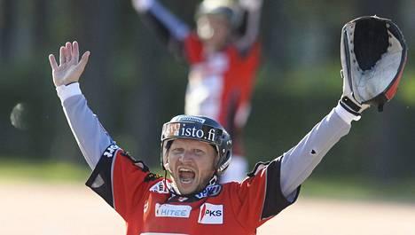 Sami Partanen onnistui Kiteen voitossa.