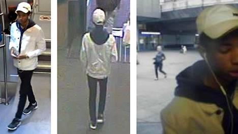 Valvontakameran kuviin tallentunutta miestä epäillään törkeästä ryöstöstä.
