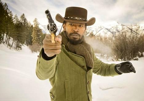 Jamie Foxx muistetaan muun muassa Quentin Tarantinon westernistä Django Unchained.