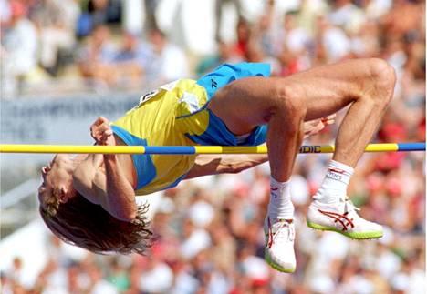 Patrik Sjöbergin ennätys 242 on yhä voimassa oleva korkeushypyn Euroopan ennätys.
