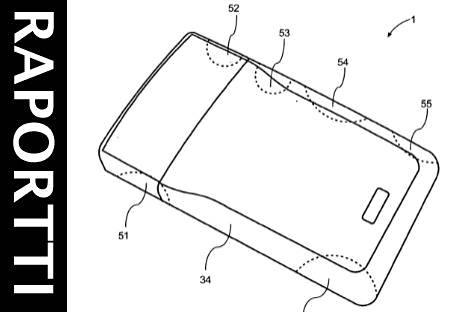 Tuore patenttihakemus kuvailee kännykkää, jonka pinta-alasta suuri osa olisi kosketusherkkää.