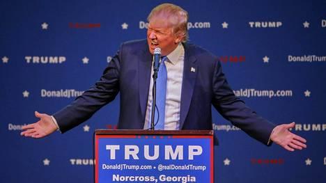 Donald Trumpin lausunnot herättivät viikonloppuna keskustelua Yhdysvalloissa. Arkistokuva.