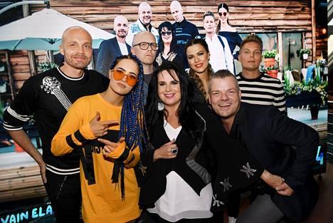 Vain elämää -ohjelman seitsemännellä tuotantokaudella nähdään Juha Tapio, Sanni, Toni Wirtanen, Kaija Koo, Jenni Vartiainen, Jari Sillanpää ja Cheek.