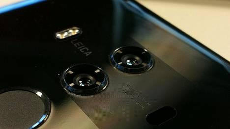 Nykyisissä huippupuhelimissa on yleensä kaksi linssiä. Huawei saattaa tuoda pian omaan puhelimeensa kolmannen.